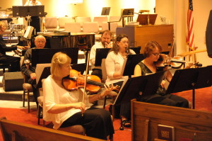 Grace Pedersen, piano, Joe Pedersen, trumpet, Michael Coates, trombone,  Karen Wenzel, Viola, Kim Edwards, clarinet, Fiona Knight, violin
