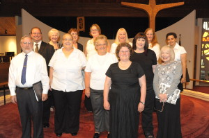 The 2013 inaugural choir